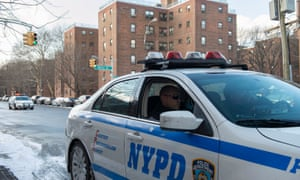 An NYPD patrol