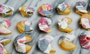 Kim-Joy's fortune cookies.