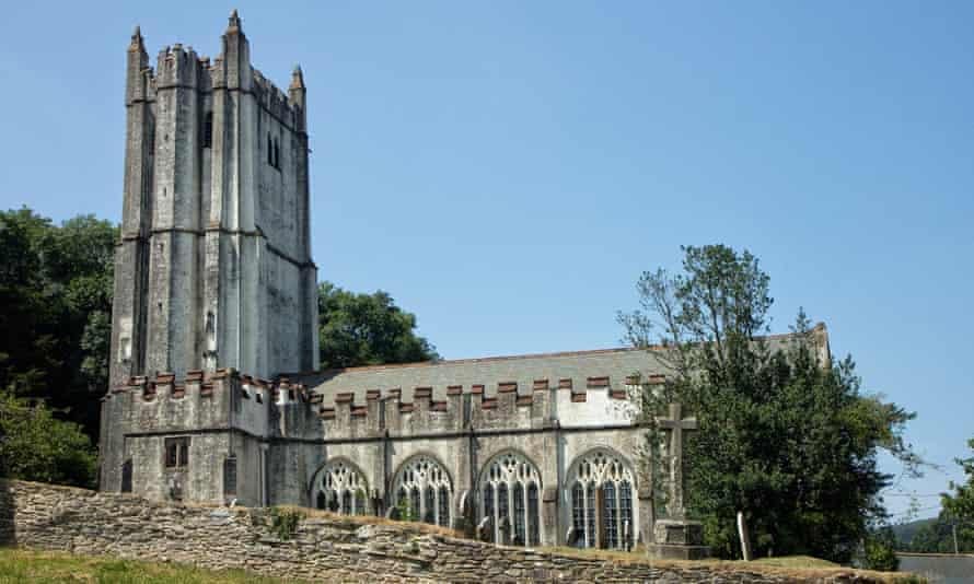 Holy Trinity church in Torbryan.
