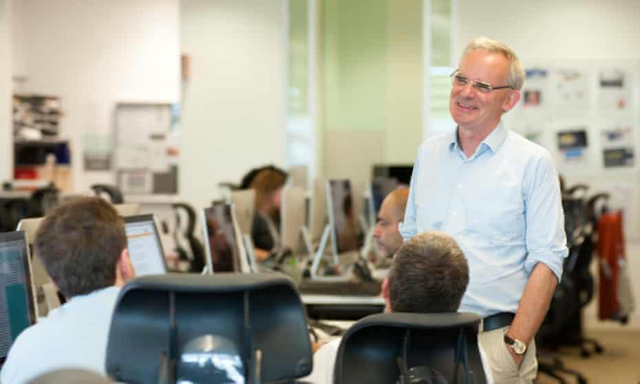 'The Herald doesn't feel like the Guardian …' Ewen MacAskill in The Guardian newsroom.