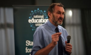 Kevin Courtney, of the National Education Union, said the academy salaries were excessive.