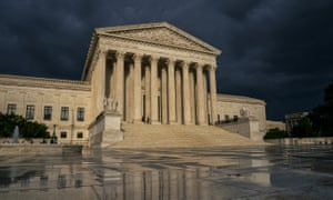 A storm over the supreme court.