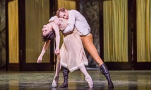 'Amplitude and sensuality': Natalia Osipova as Mary Vetsera and Edward Watson as Rudolf in the Royal Ballet's Mayerling.