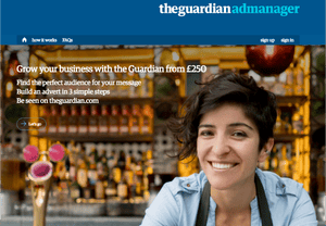 the Guardian Ad manager