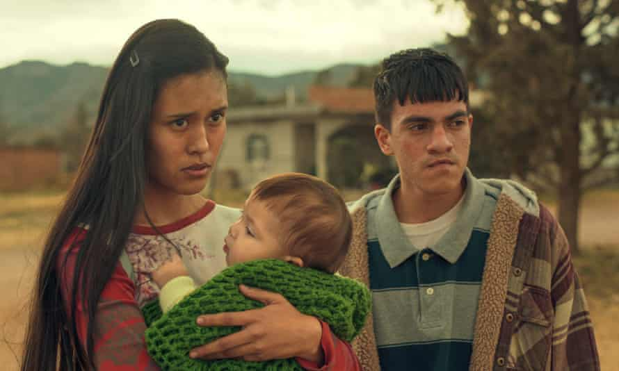 We know what's about to hit, but they have no idea ... Natalia Martinez and Jesus Sida in Somos.