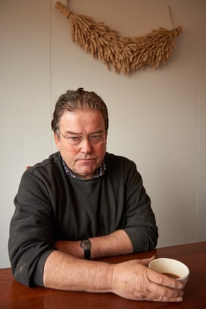 Jur Huizinga, whose house in Groningen was damaged by gas-drilling earthquakes