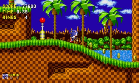 In Sonic The Hedgehog the levels aren't designed to be seen or even understood in one playthrough; a maverick approach to platform gaming design