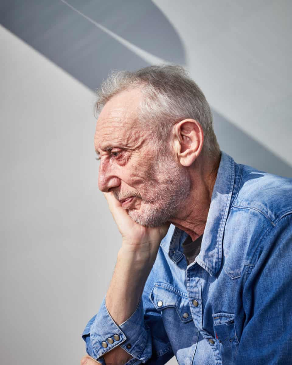 Michael Rosen … 'I went from a Zimmer to a walking stick. I gave it a nice friendly name. Sticky McStick Stick.'