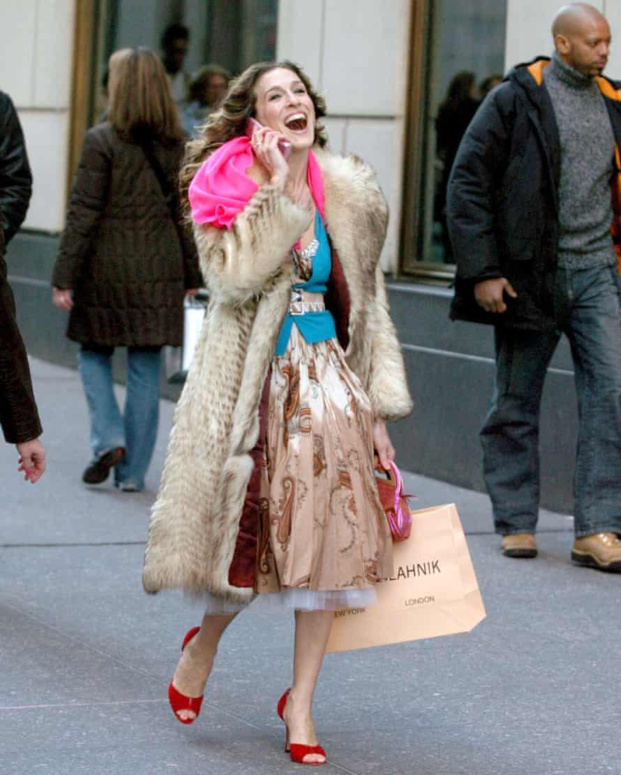 Sarah Jessica Parker in Sex and the City.