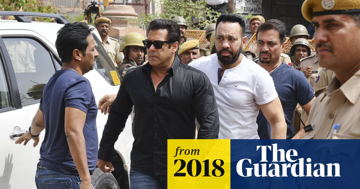 Bollywood star Salman Khan sentenced to five years for