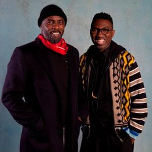 Idris Elba and Kwame Kwei-Armah.