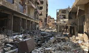 Douma in April 2018.