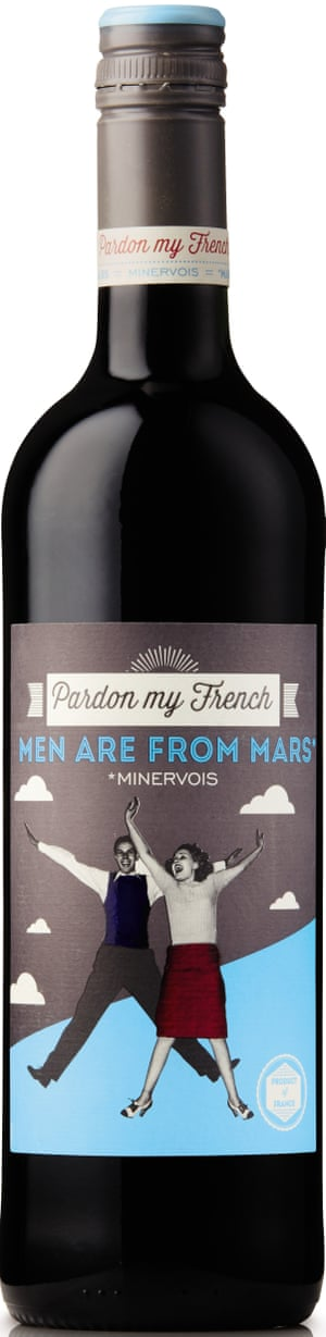 Pardon My French Men Are From Mars Minervois: serve with pate.