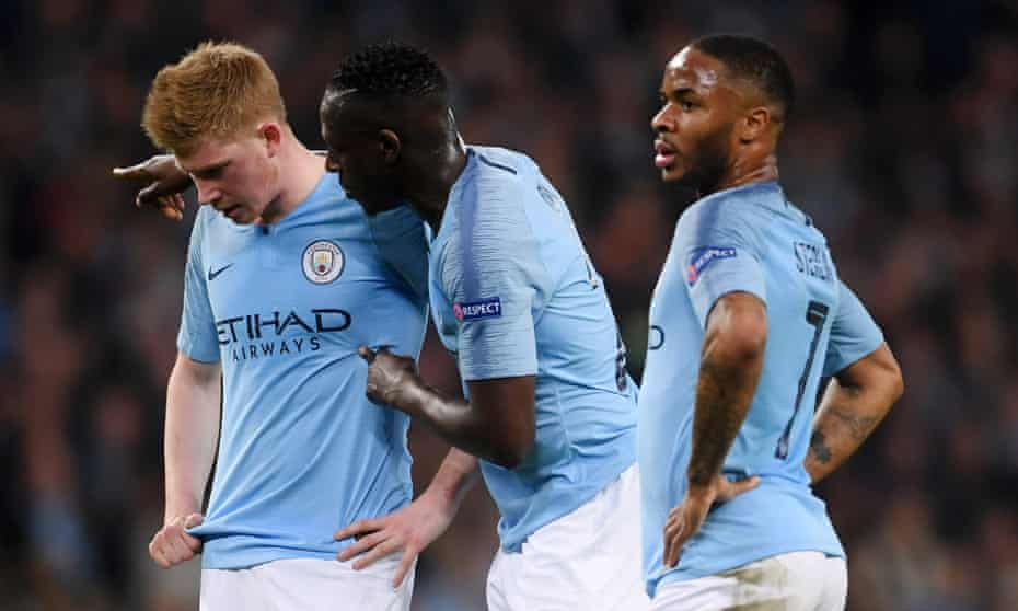 Manchester City's Kevin De Bruyne, Benjamin Mendy and Raheem Sterling reflect on last season's dramatic Champions League defeat by Tottenham.
