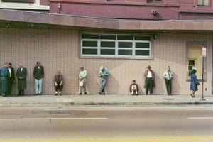 Waiting Queue at Job Centre, Chicago, 1966Throughout his career Carnicelli documented public events, social movements, political gatherings – his humanist approach was influenced by photographers including Lewis Hine and the celebrated Farm Security Administration photography programme.