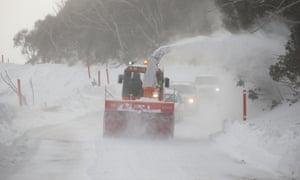 Blizzard at Guthega