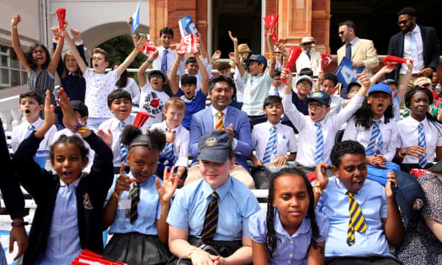 Local schoolchildren from 14 state schools across Westminster were invited into the Pavilion at Lords to watch Pakistan and Bangladesh earlier this month.