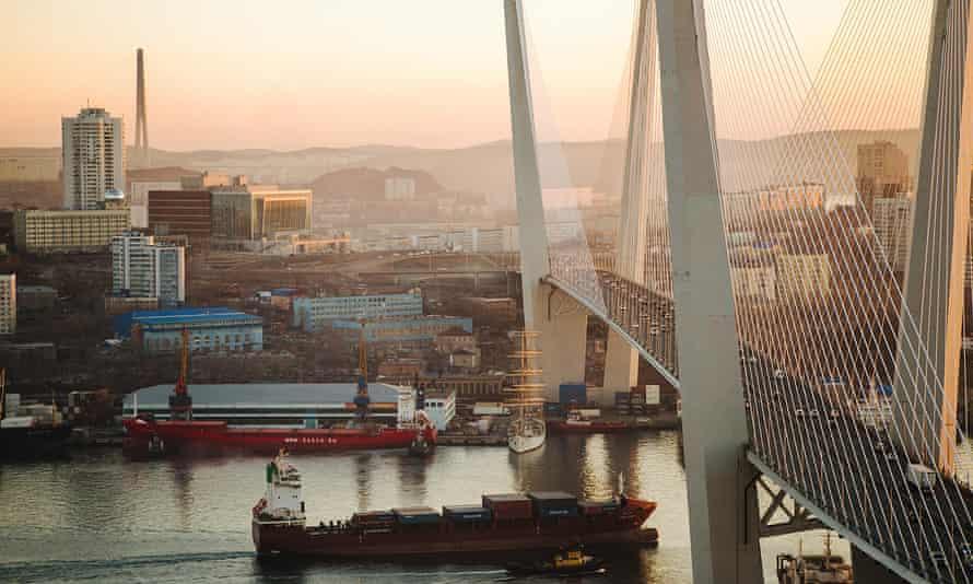 Vladivostok's Russky Island.