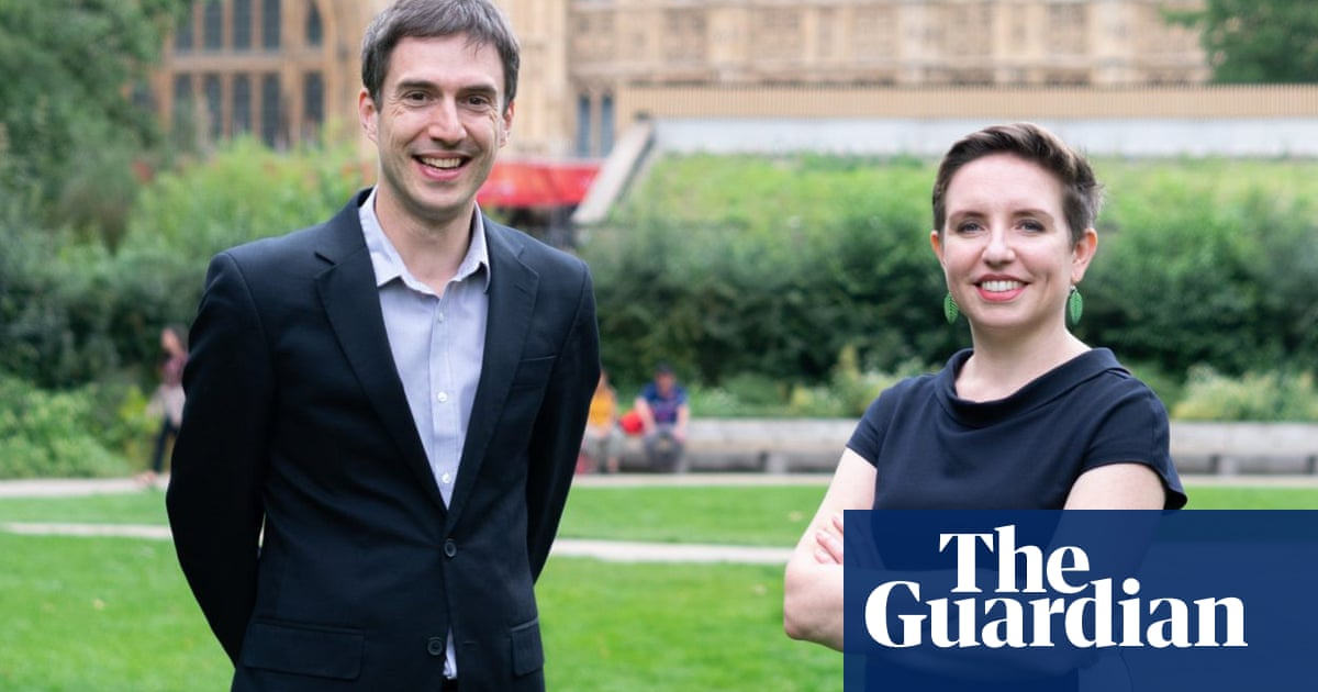 Green party in England and Wales unveils new leadership duo