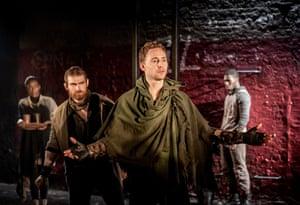 Tom Hiddleston in Coriolanus, 2013