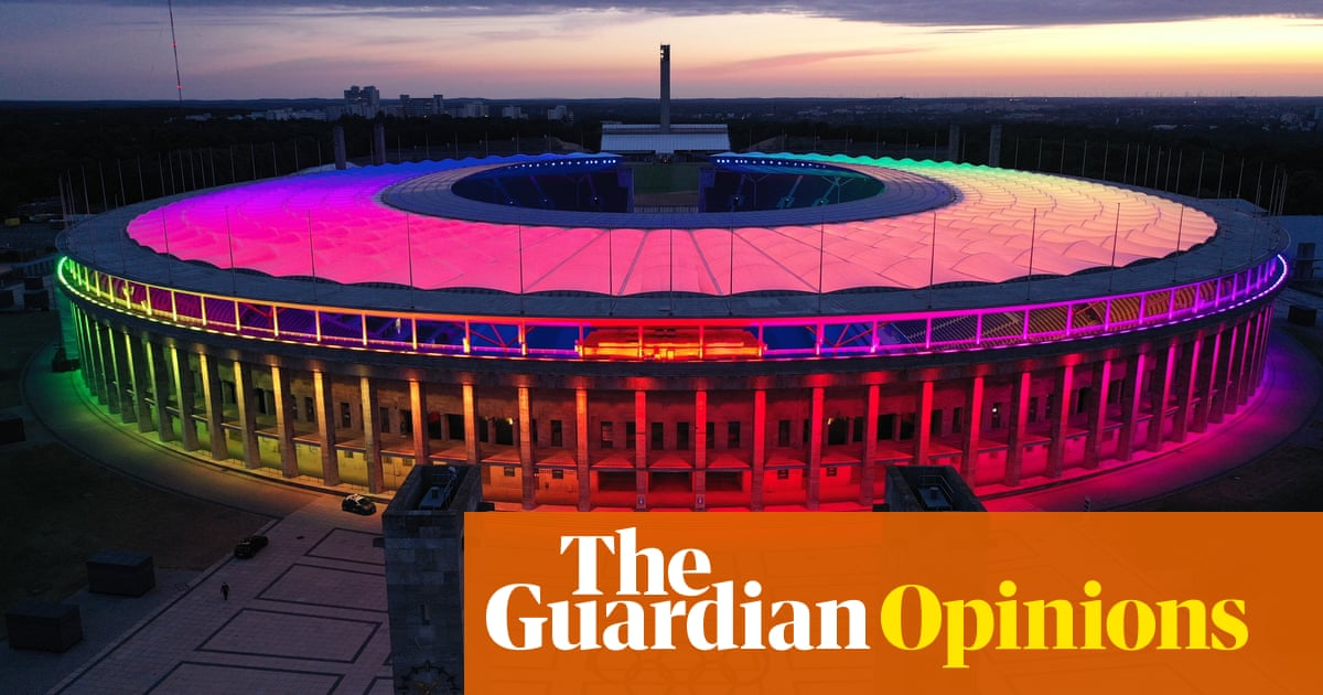 Denmark and rainbow-lit stadiums have shown the way forward on inclusion