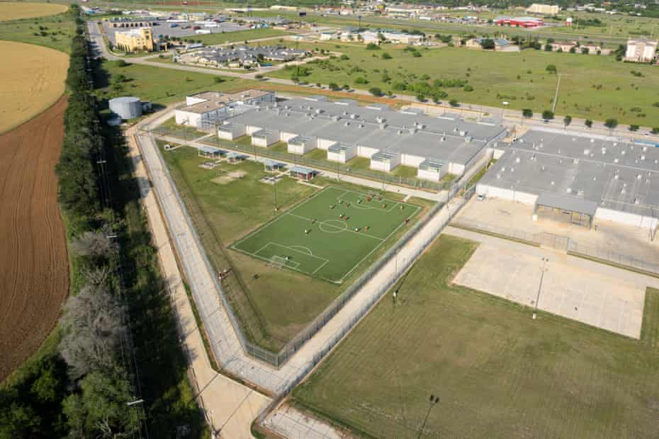 South Texas Detention Complex, Pearsall, TX.