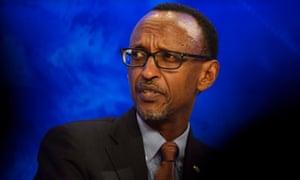 Paul Kagame, the Rwandan president.