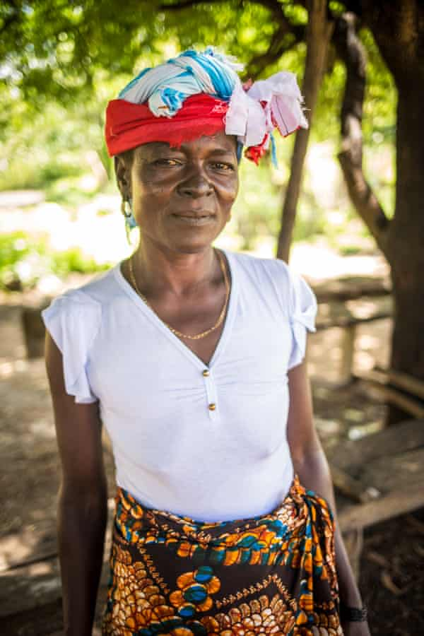 Baromie Kamara, deputy head sowei in her chiefdom, is unhappy the vilage chief has banned Bondo, or cutting ceremonies.