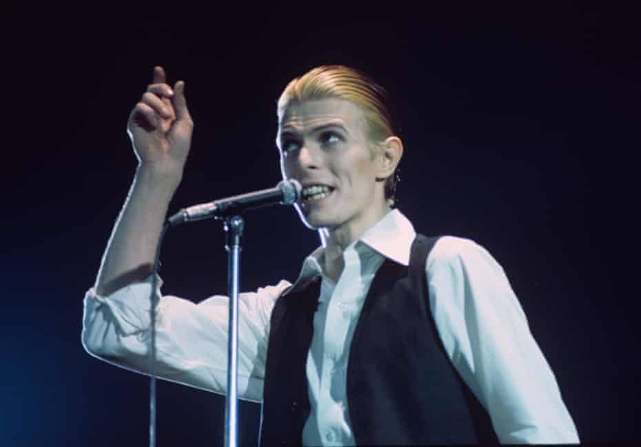David Bowie in Rotterdam, 1976.