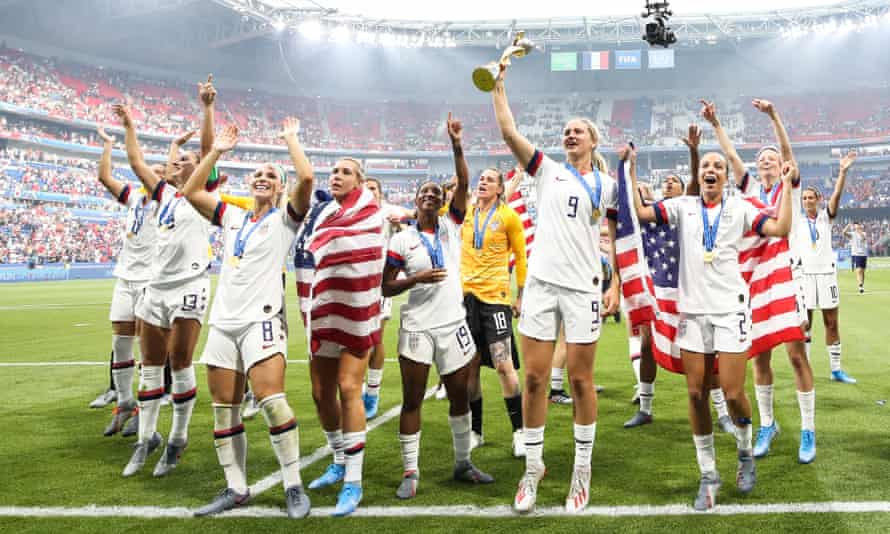 The United States are the current Women's World Cup champions