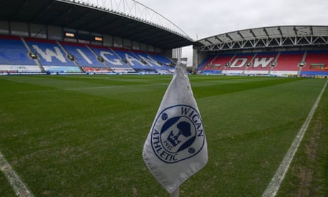 Wigan's administrators agree sale of club that could secure its future