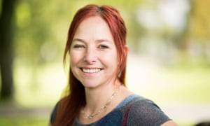 Professor Alice Roberts pictured in her home city of Bristol.