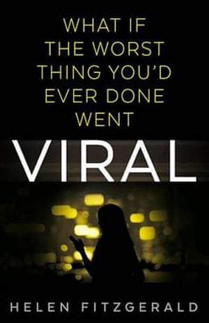 Book jacket of Viral by Helen Fitzgerald