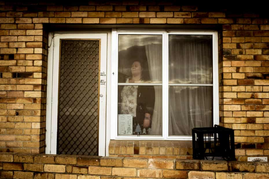 Melissa Whelan lived in the Flemington estate at the time of the 2020 housing commission hard lockdown