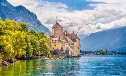 Chillon Castle, Lake Geneva.