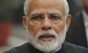 "Narendra Modi<br>FILE- A Dec. 11, 2018 file photo of Indian Prime Minister Narendra Modi in New Delhi, India. Modi has been skewered by the opposition for going ahead with an airstrike in Pakistan on the mistaken belief that cloudy skies would help India's air force avoid radar detection over experts' advice to delay the operation until the weather cleared. In a television interview, Modi said he used his ""raw wisdom"" in the operation, believing Indian air force aircraft would benefit from the cloud cover. (AP Photo/Manish Swarup, File)"