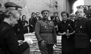 Franco at Medina Del Campo, Spain in 1939