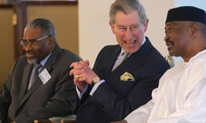 Prince Charles with the then president of Mali in 2006