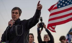 Beto O'Rourke in El Paso, Texas, on 11 February 2019.