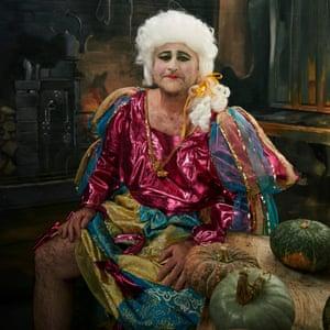 Richard Turner as an Ugly Sister