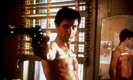 'Some day a real rain will come' … Robert De Niro as Travis Bickle in Taxi Driver.