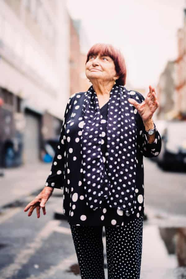 Agnès Varda: 'I've always loved polka dots. It is a joyful shape.'