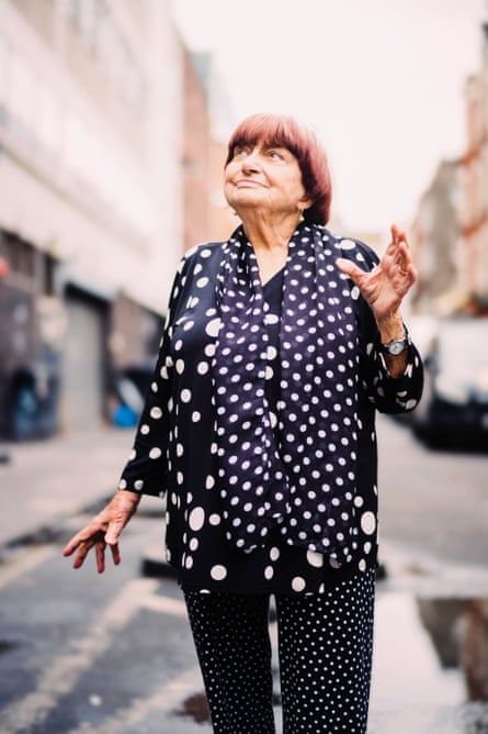 Agnès Varda: 'I've always loved polka dots. It is a joyful shape.'