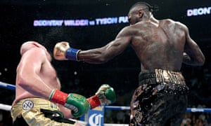 Deontay Wilder felled Tyson Fury for the second time in the 12th round