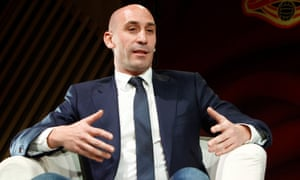 Luis Rubiales says: 'Football itself, the actual game, is a healthy sport. As for what's around it, there are some elements I don't like.'
