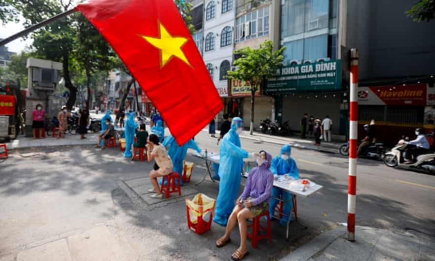 Vietnam man jailed for five years for spreading coronavirus | Coronavirus |  The Guardian