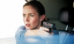 Emily Blunt in Sicario … 'Her arc was complete,' said Taylor Sheridan.