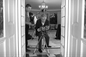 O'Neill behind the camera