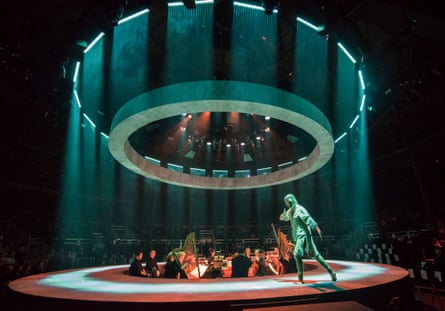 Roderick Williams in The Return of Ulysses at the Roundhouse.