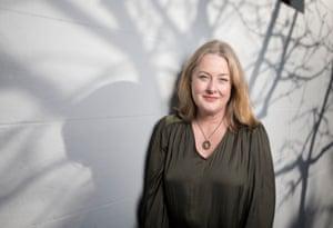 Stephanie Wood, author of the novel Fake, photographed in Redfern, Sydney, Australia. 12 July 2019.